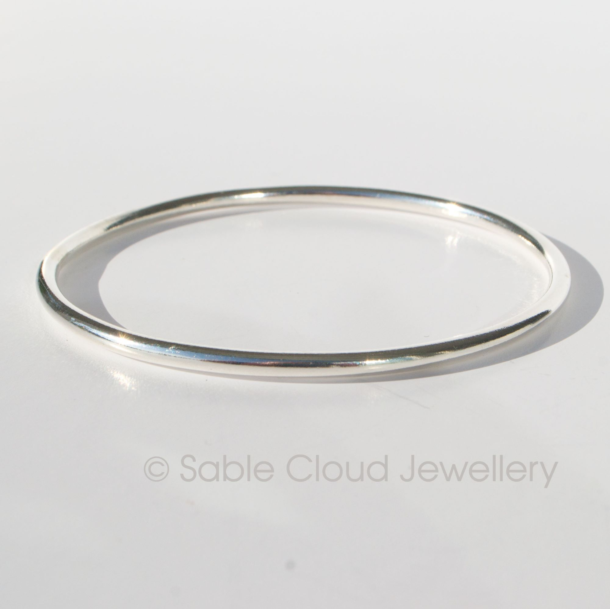 Duo Bangle by Sable Cloud Jewellery