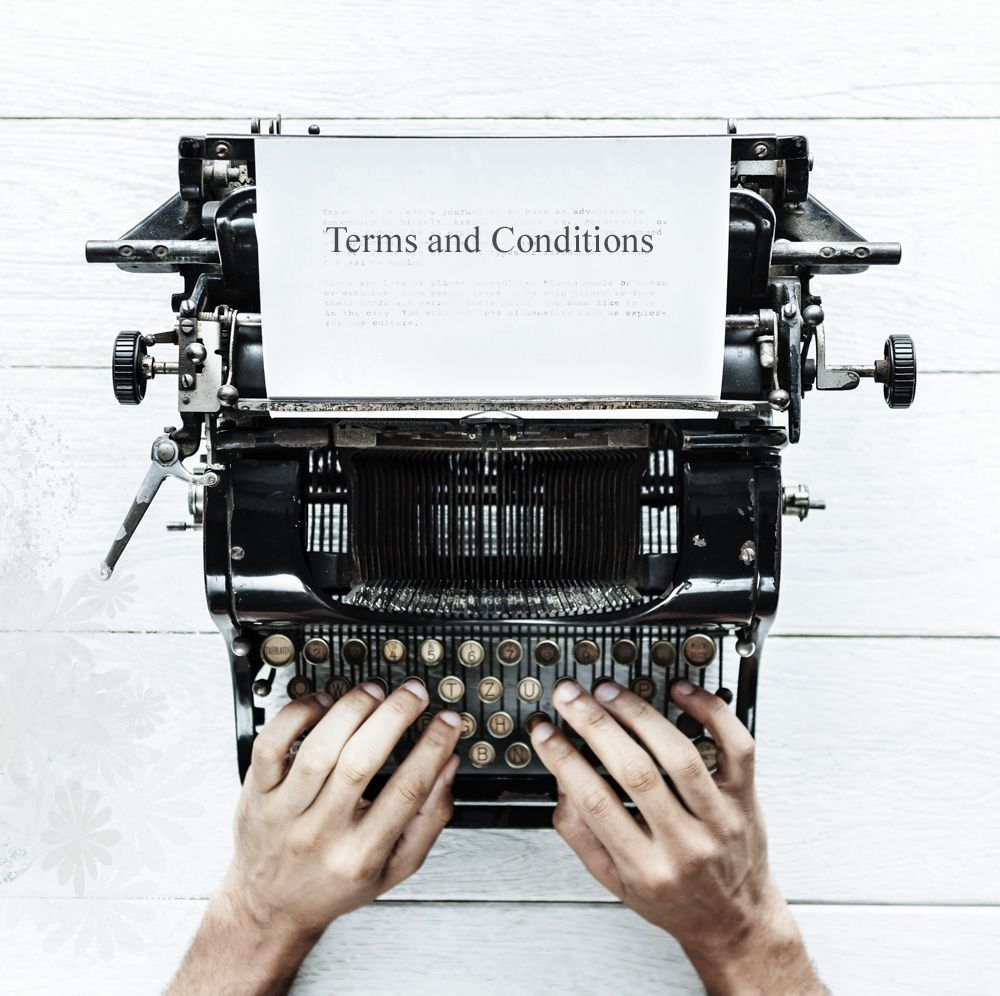 SCJ - Terms and Conditions