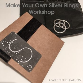 Make Your Own Silver Rings Workshop