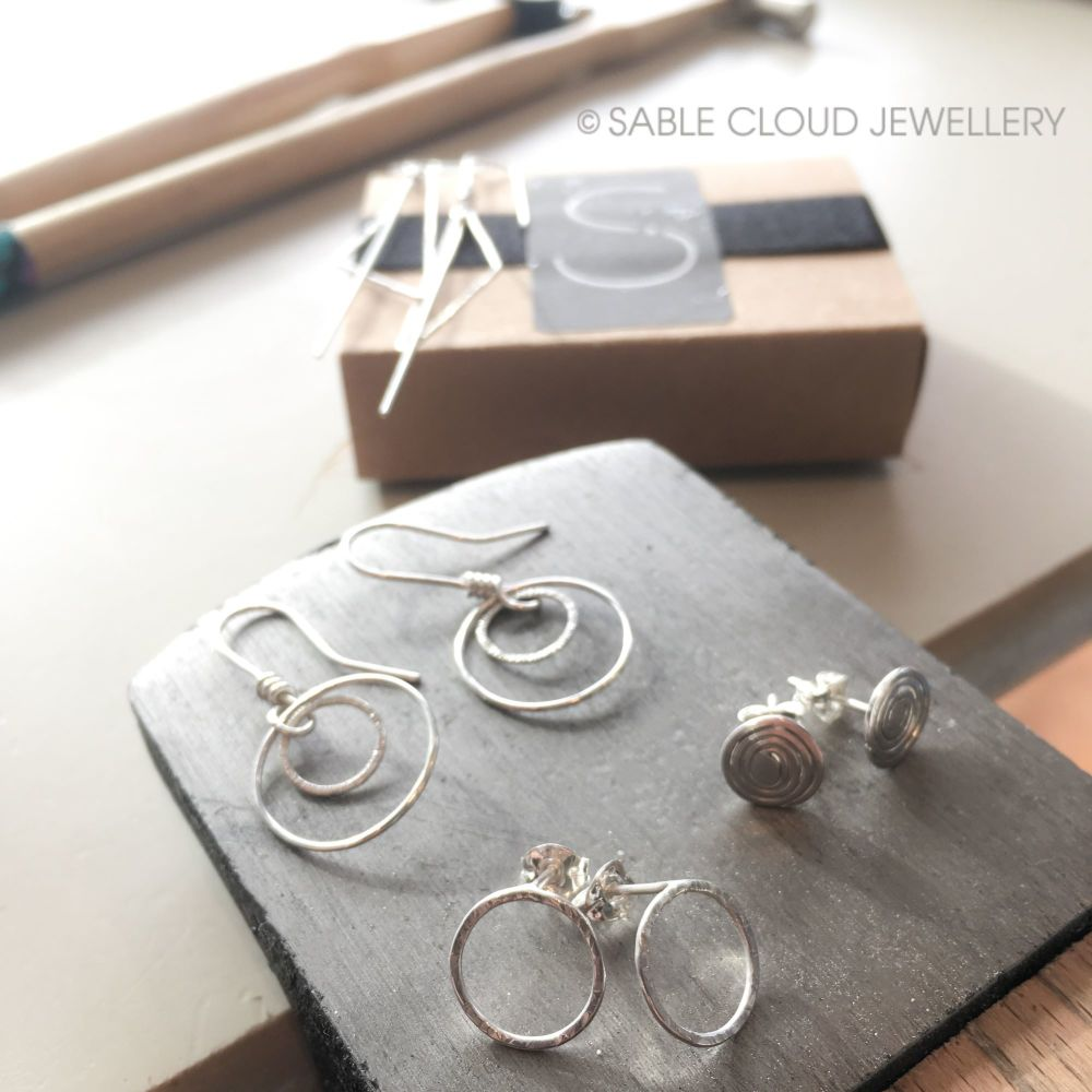 Make Two Pairs of Silver Earrings Workshop Voucher