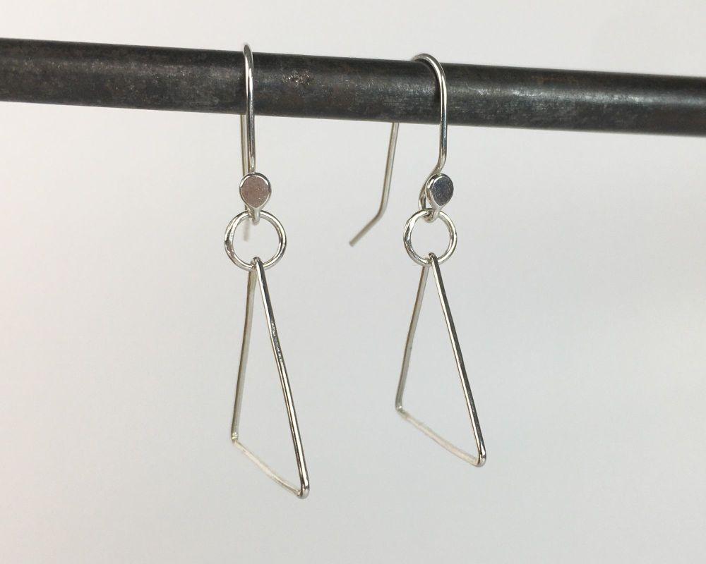 Dinky Dangle Earrings - Triangle