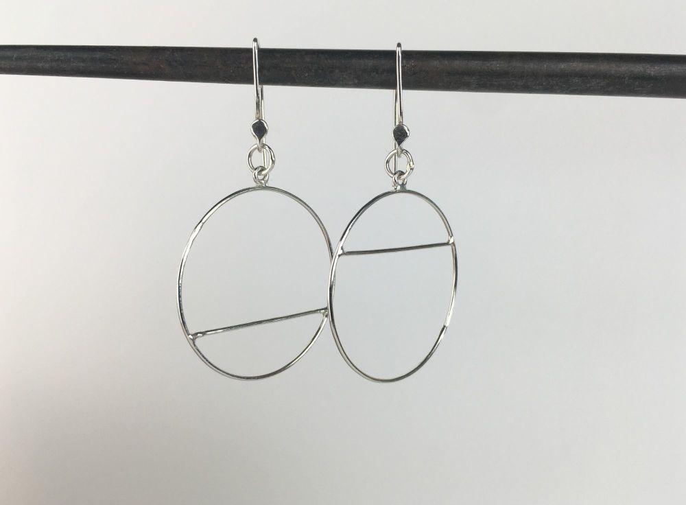 Dangle Earrings - High Low Lines