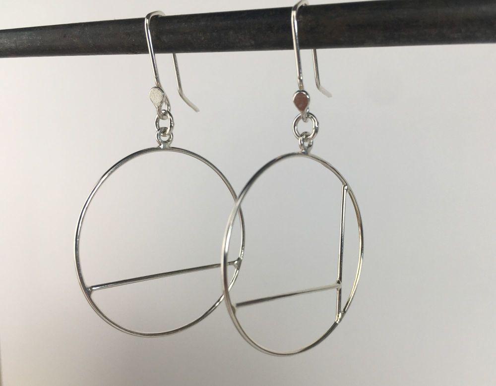 Dangle Earrings - Mondrian