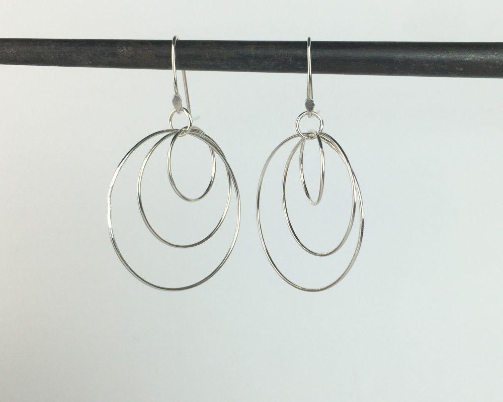 Dangle Earrings - Russian Link