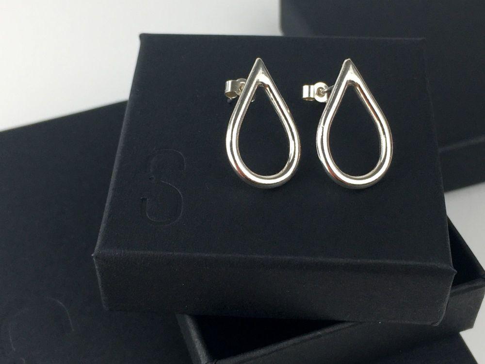 Stud Earrings - Baby Teardrops