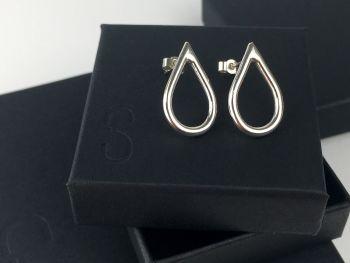 Stud Earrings - Baby Chunky Teardrops
