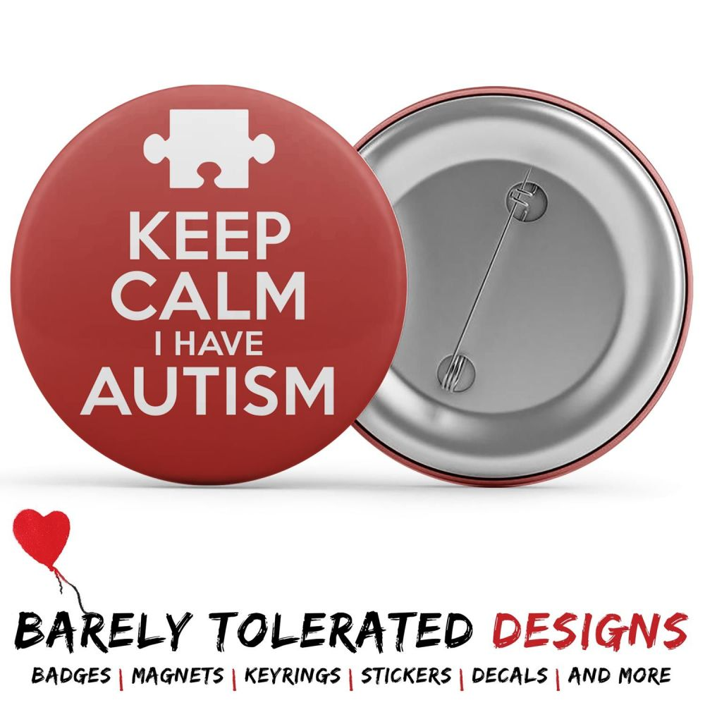 Keep Calm I Have Autism (Jigsaw)