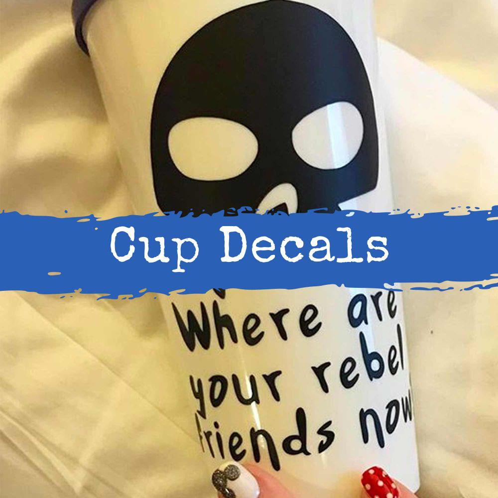 Cup Decals