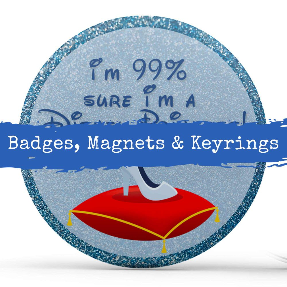 Badges, Magnets & Keyrings