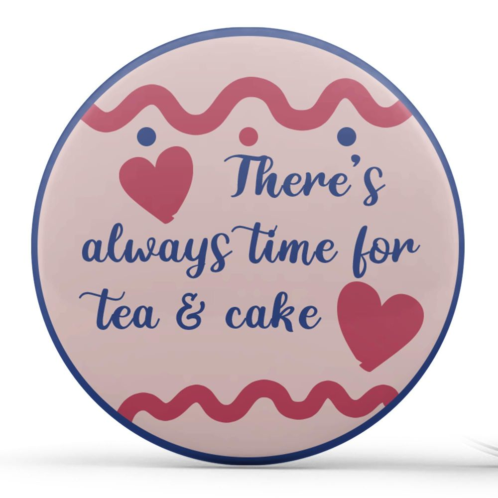 Personalised - Teacups, Blue & Pink
