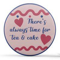 Personalised - Teacups, Blue & Pink