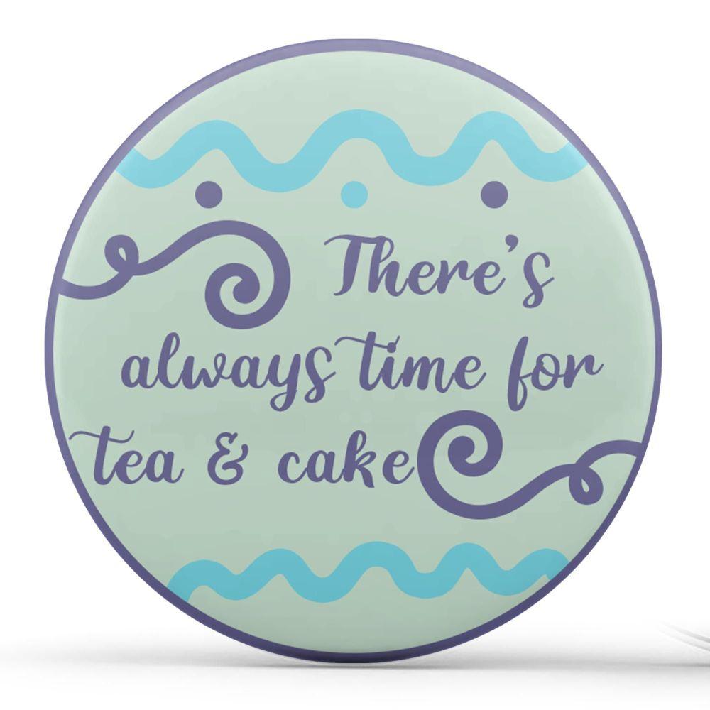 Personalised - Teacups, Purple & Green