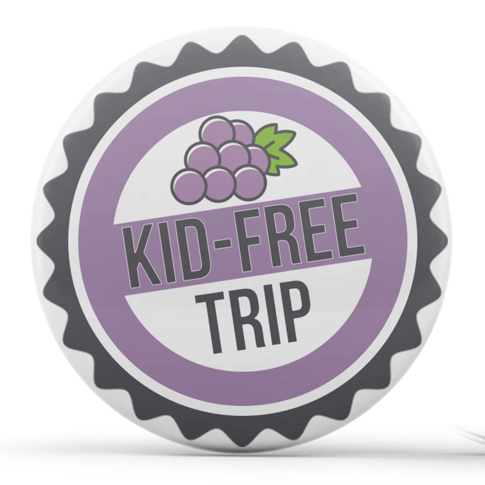 Kid-Free Trip, Grape Soda