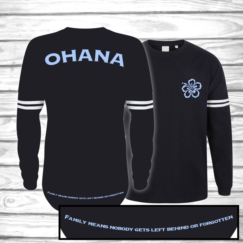 Ohana, Tolerated Oversized Unisex Jersey