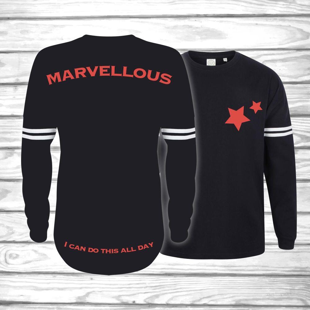 Marvellous - Tolerated Oversized Unisex Jersey