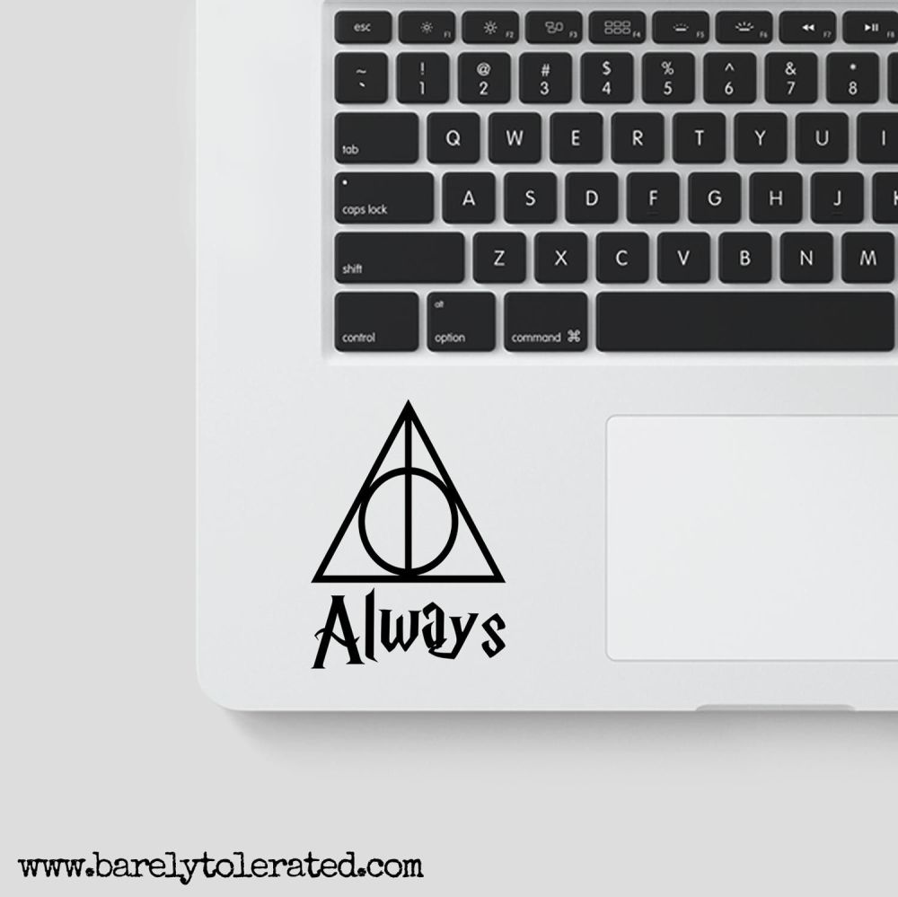 Always / Deathly Hallows Decal - Harry Potter
