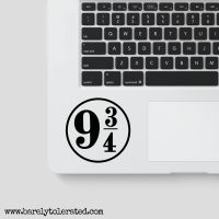 Platform 9 3/4 Decal - Harry Potter - Hogwarts Express