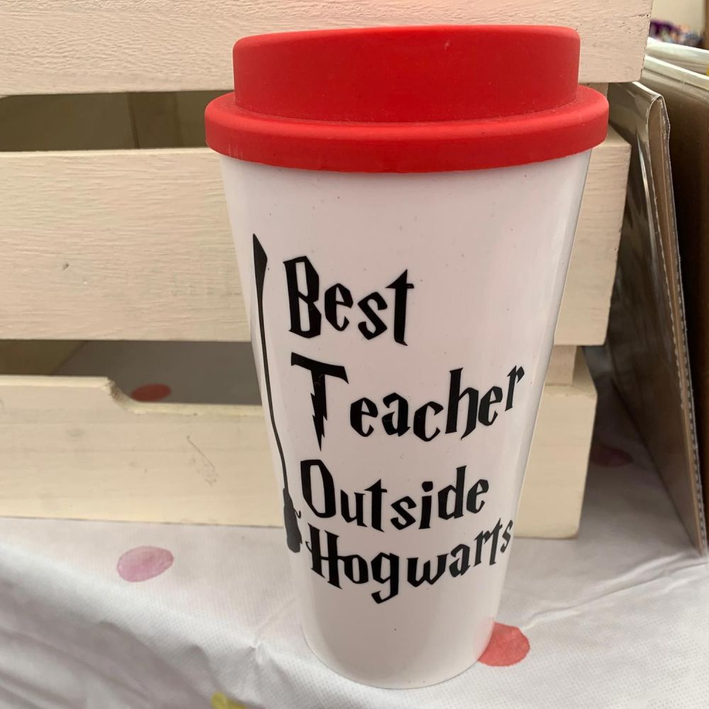 Best Teacher Outside Hogwarts - Decal/Sticker