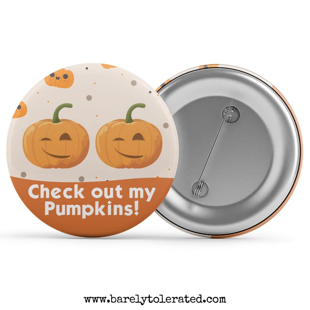 Check Out My Pumpkins