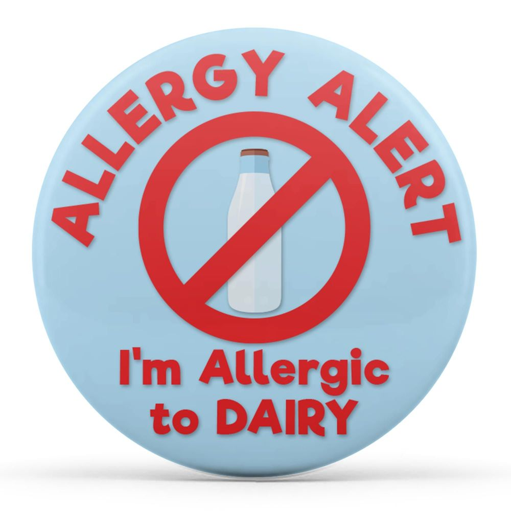 Allergy Alert - I'm Allergic to Dairy