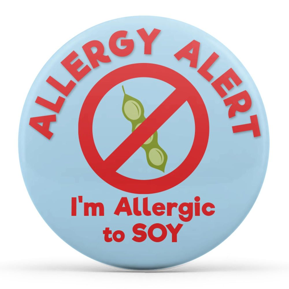 Allergy Alert - I'm Allergic to Soy