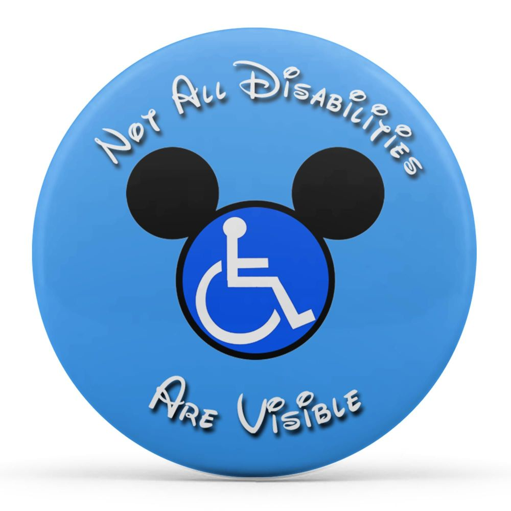 Not All Disabilities Are Visible (Blue)