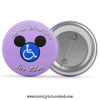 Not All Disabilities Are Visible (Purple)