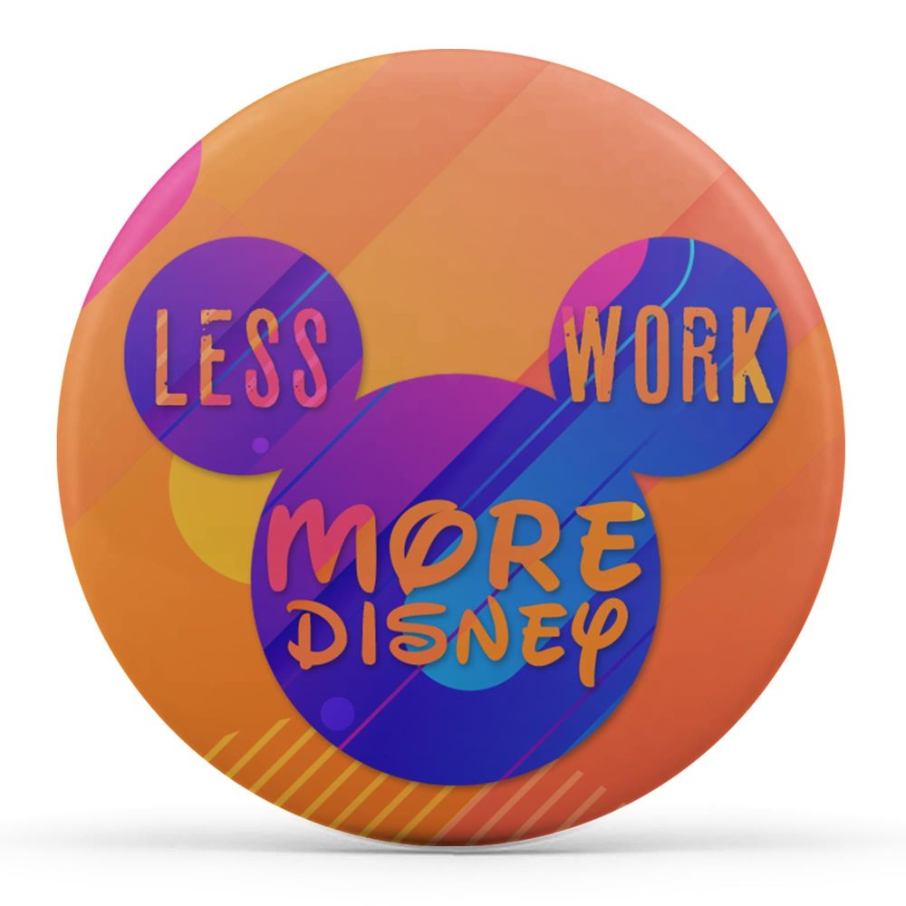 Less Work, More Disney