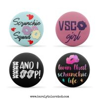 VSCO Set of 4 38mm Badges (Set2)
