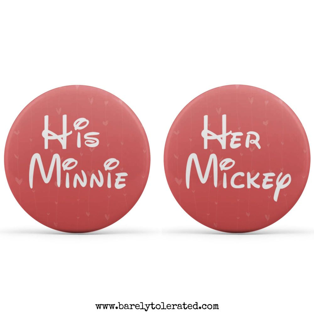 Dual Pack - His Minnie, Her Mickey