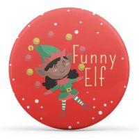 Funny Elf - Christmas Elf on a Shelf