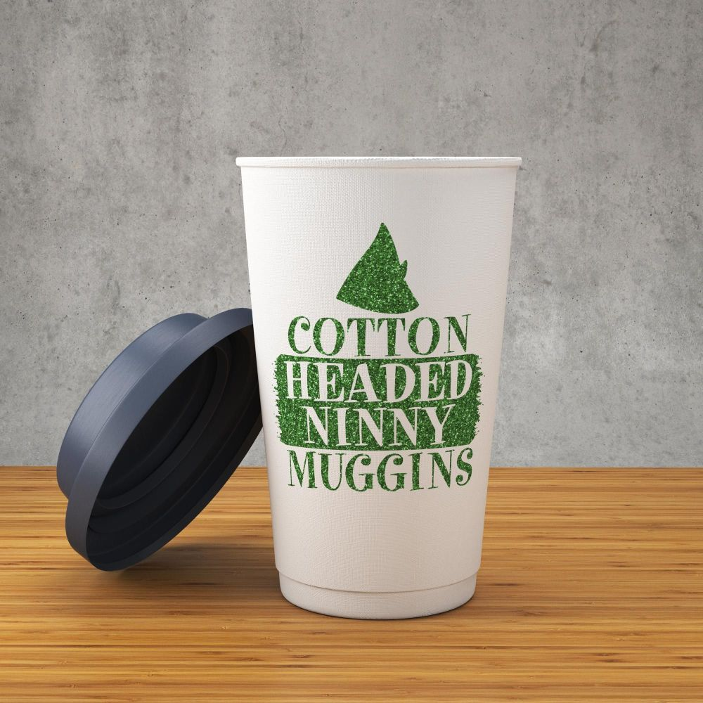 Green Cotton Headed Ninny Muggins- Decal/Sticker