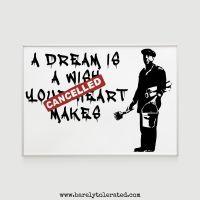Cancelled Dream Print