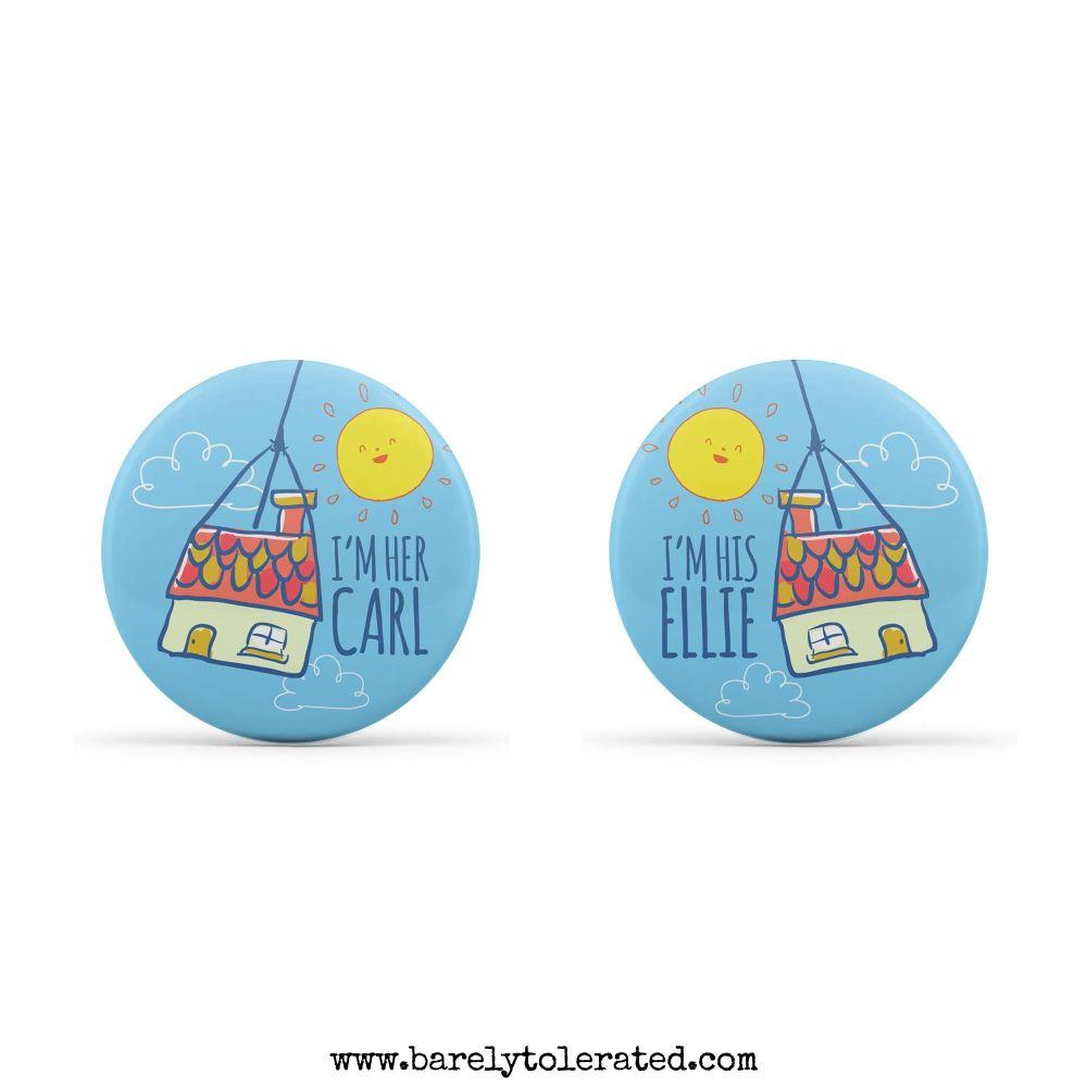 Dual Pack - I'm His Ellie, I'm Her Carl