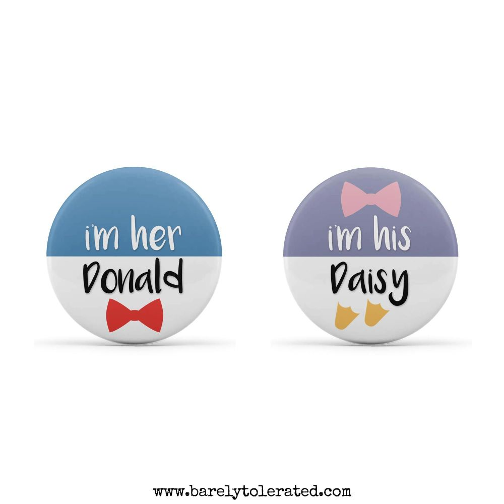 Dual Pack - I'm His Daisy, I'm Her Donald