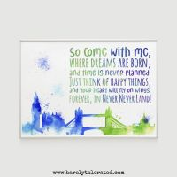 So Come With Me Print