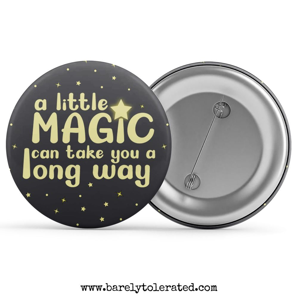 A Little Magic Can Take You A Long Way