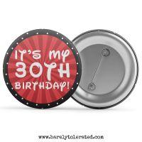 It's My Birthday (Customised)