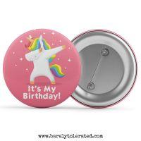 It's My Birthday - Unicorn Dab Pink