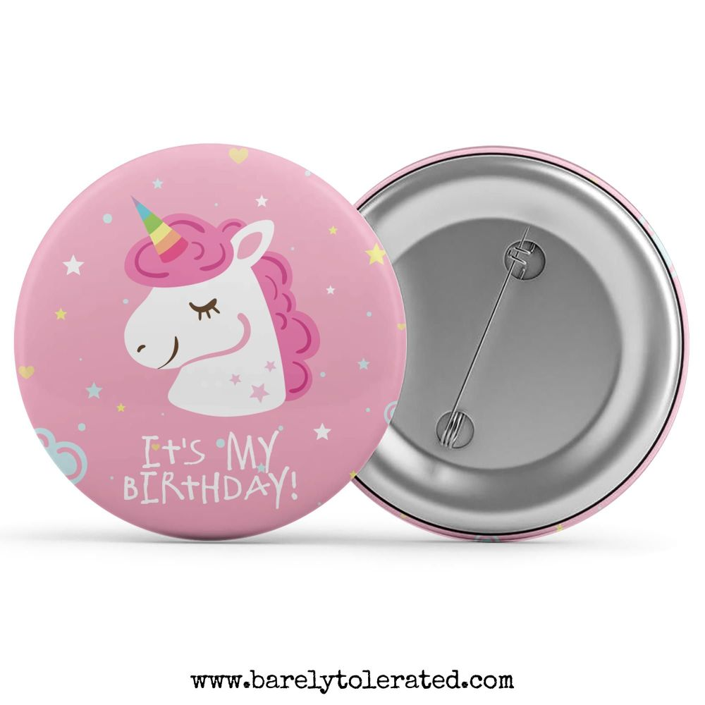 It's My Birthday - Unicorn Stars