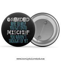 Grandad Here To Help You Get Into Mischief