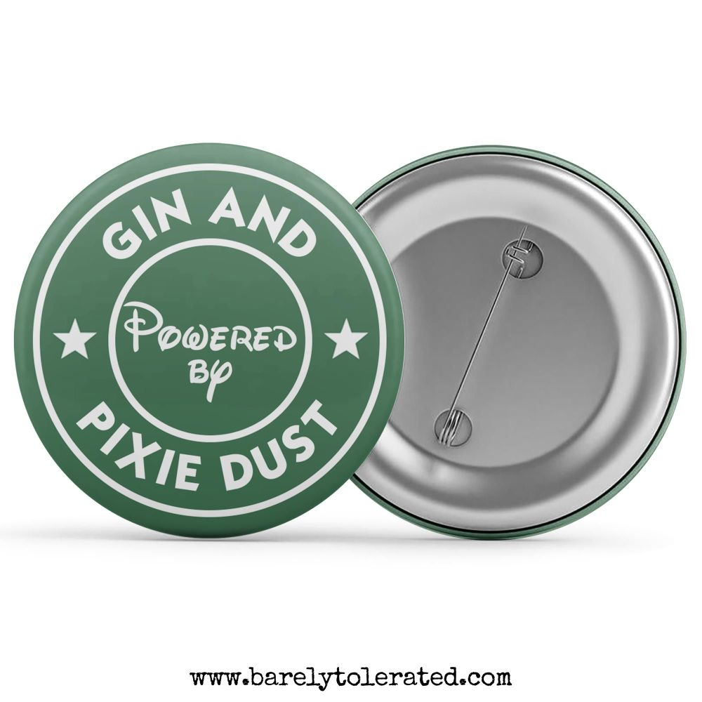 Powered by Gin & Pixie Dust