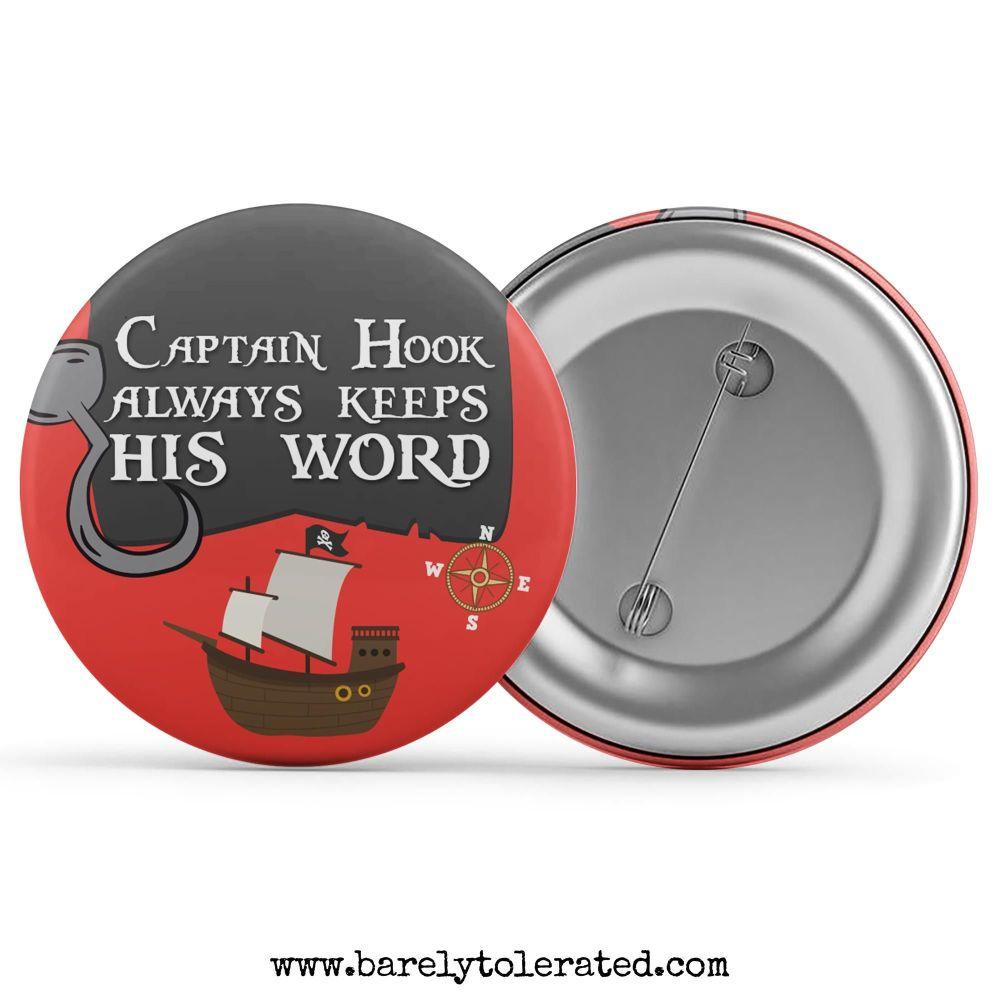 Captain Hook Always Keeps His Word