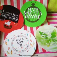 Neverland Inspired Sticker Set of 4