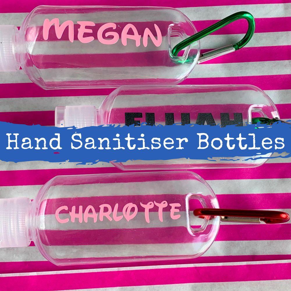 Hand Sanitiser Bottles