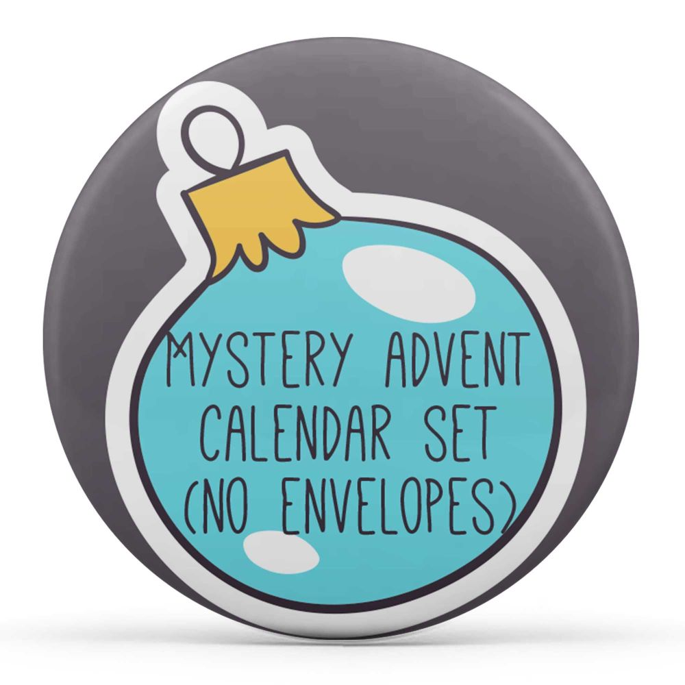 Limited: Mystery Badge Advent Calendar (Small)