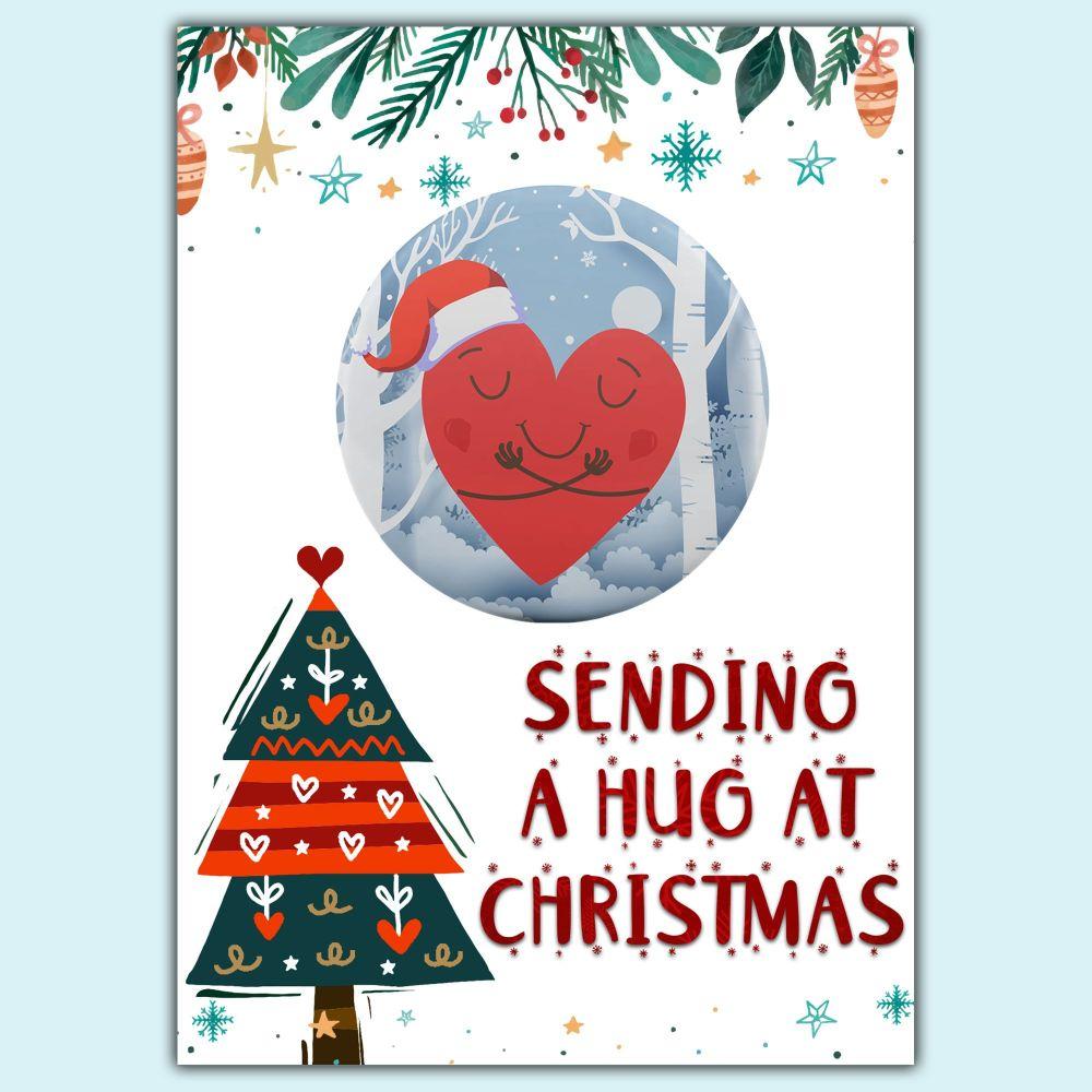 Sending A Hug At Christmas - Hug in the Post