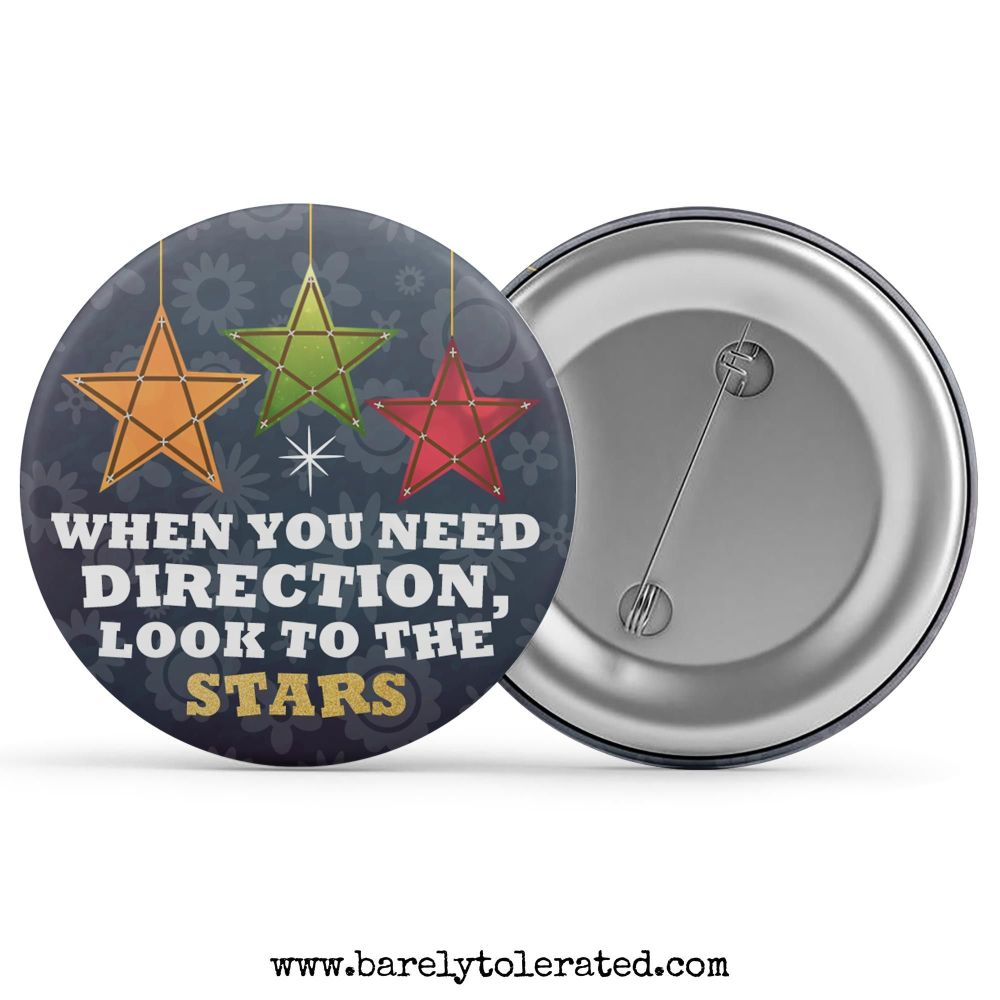 When You Need Direction, Look To The Stars
