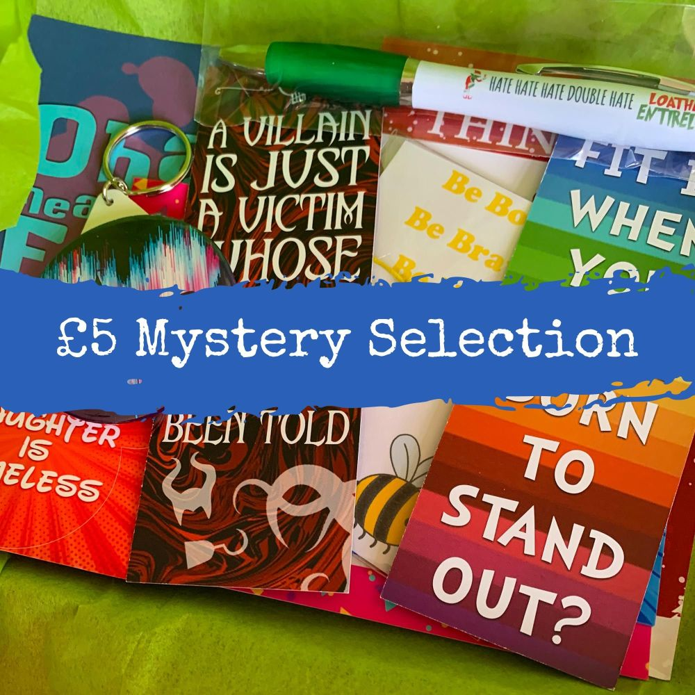 £5 Mystery Pack - Worth £10!