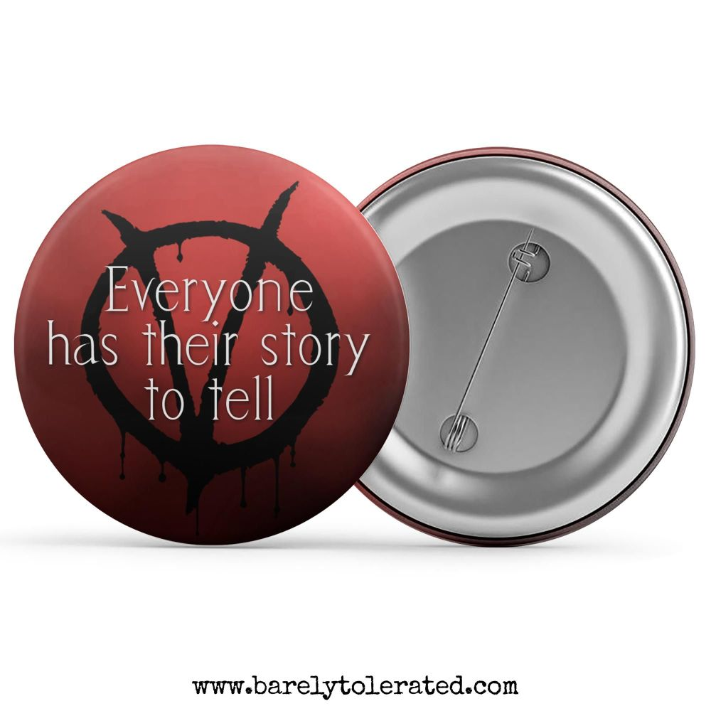 Everyone Has Their Story To Tell